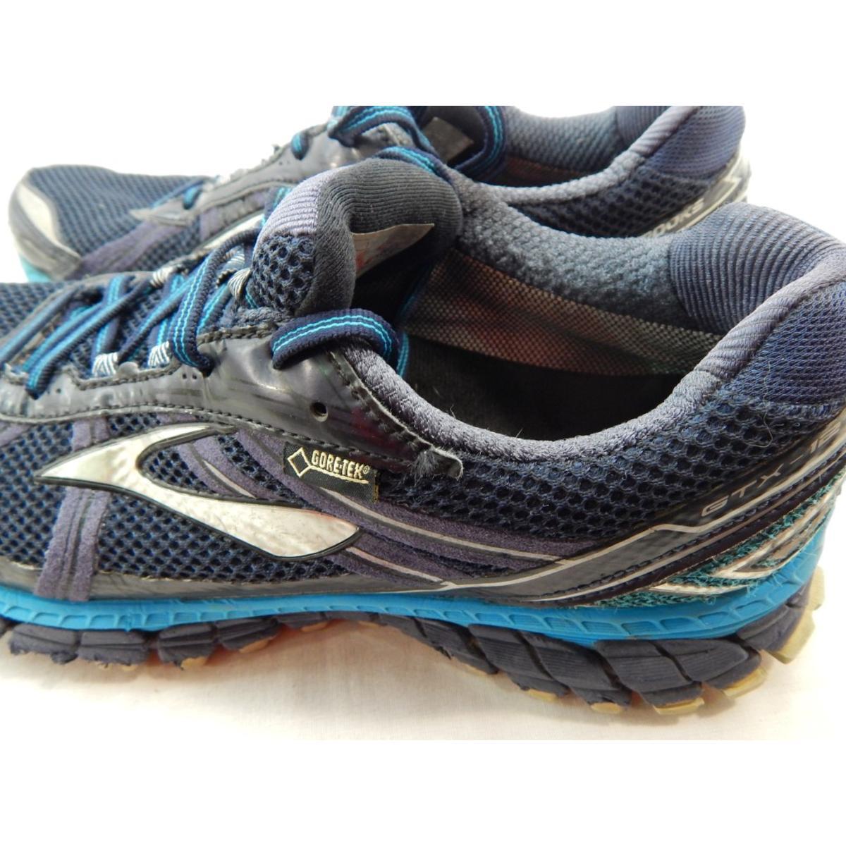 c5311651adcbb Brooks Adrenaline ASR 12 GTX Men s Peacoat Atomic Blue Running Shoe 10.5M 5  5 of 6 ...