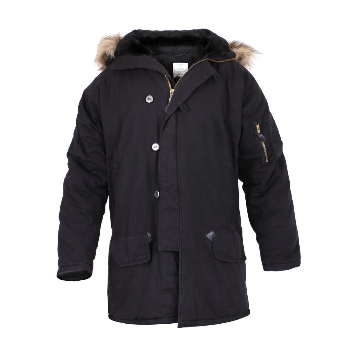 UF Vintage N-3B Parka Jacket Mens Coat