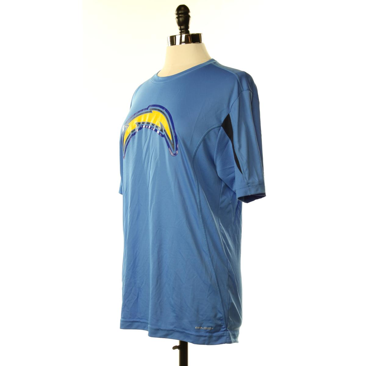 majestic new womens m blue logo 100 polyester sale s