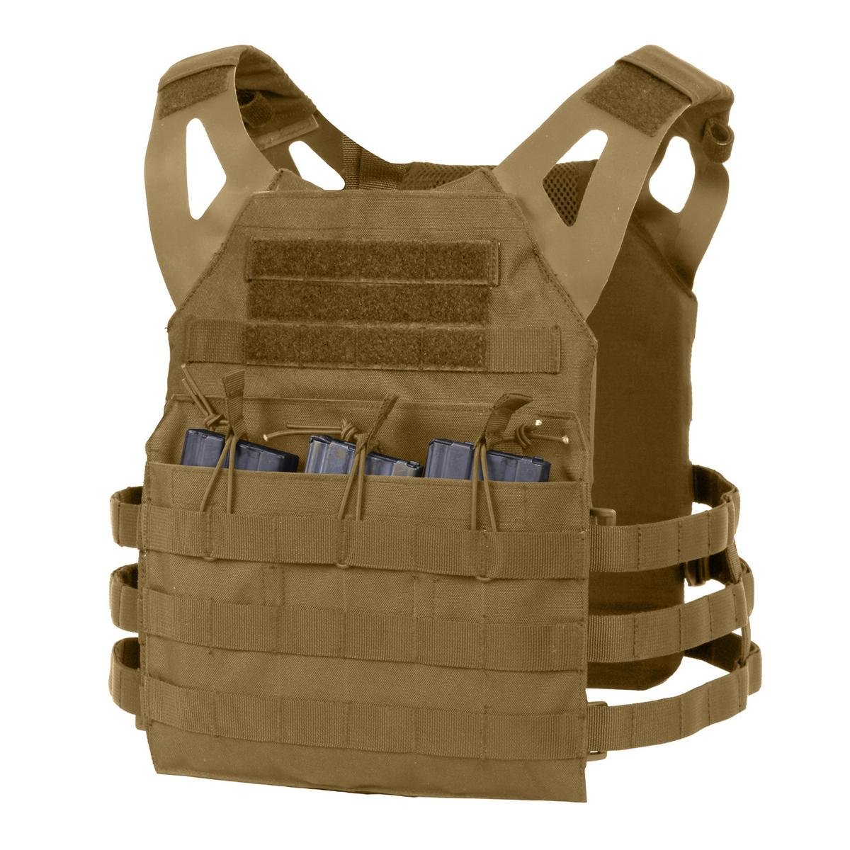 Rothco Lightweight MOLLE Tactical Armor Plate Carrier Vest ...