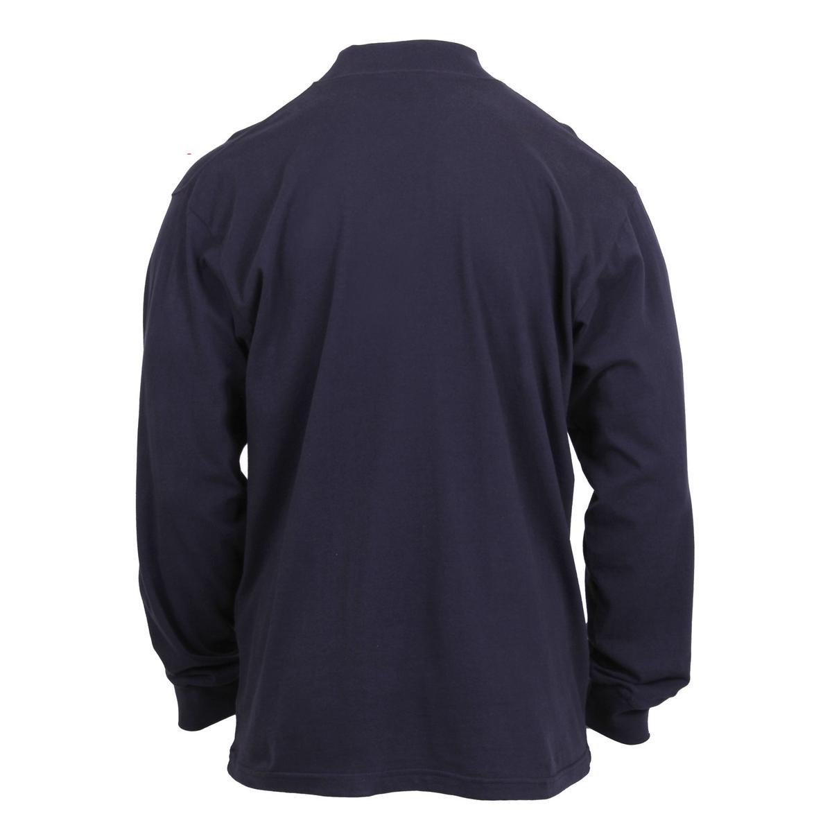 Rothco mock turtleneck tactical shirt ebay for Mens mock turtleneck shirts sale