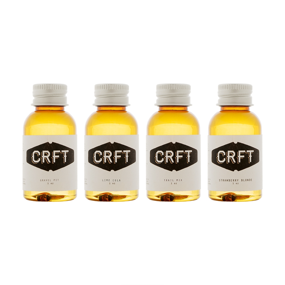 CRFT 4-Flavor Collection | 120mL Photo