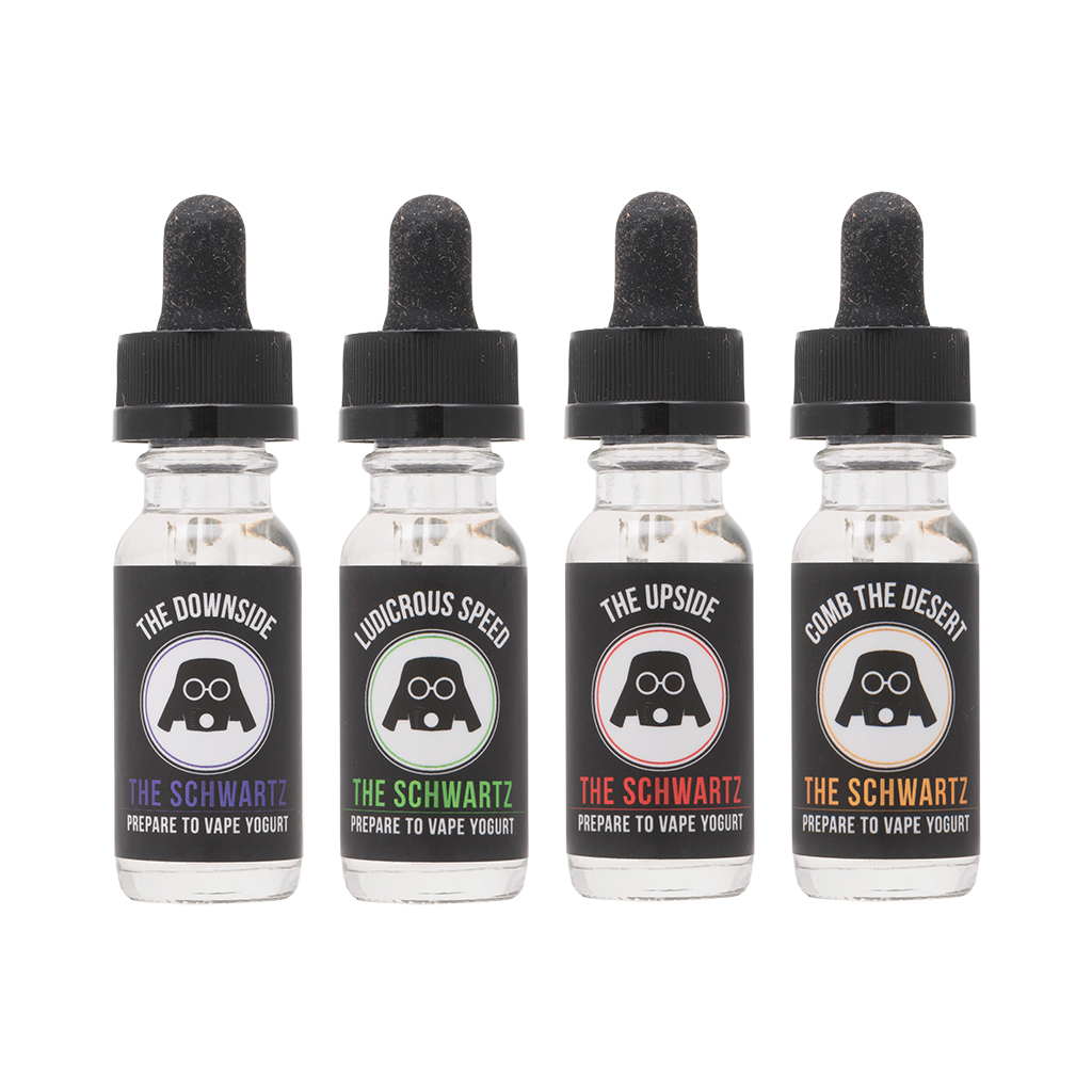 The Schwartz 60mL Flavor Collection | Signature Value Pack: 4 Bottles Photo