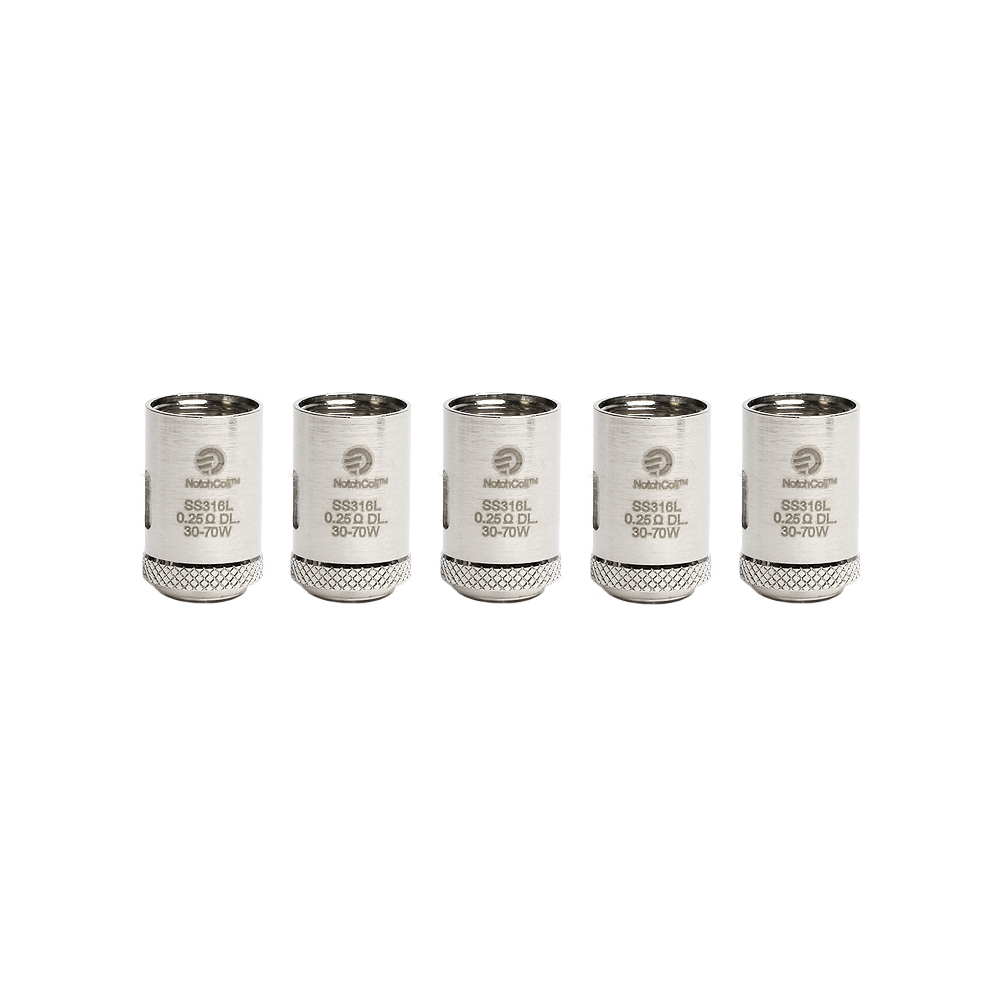 Joyetech Cubis Notch Coils 0.25ohm (5-Pack) Photo