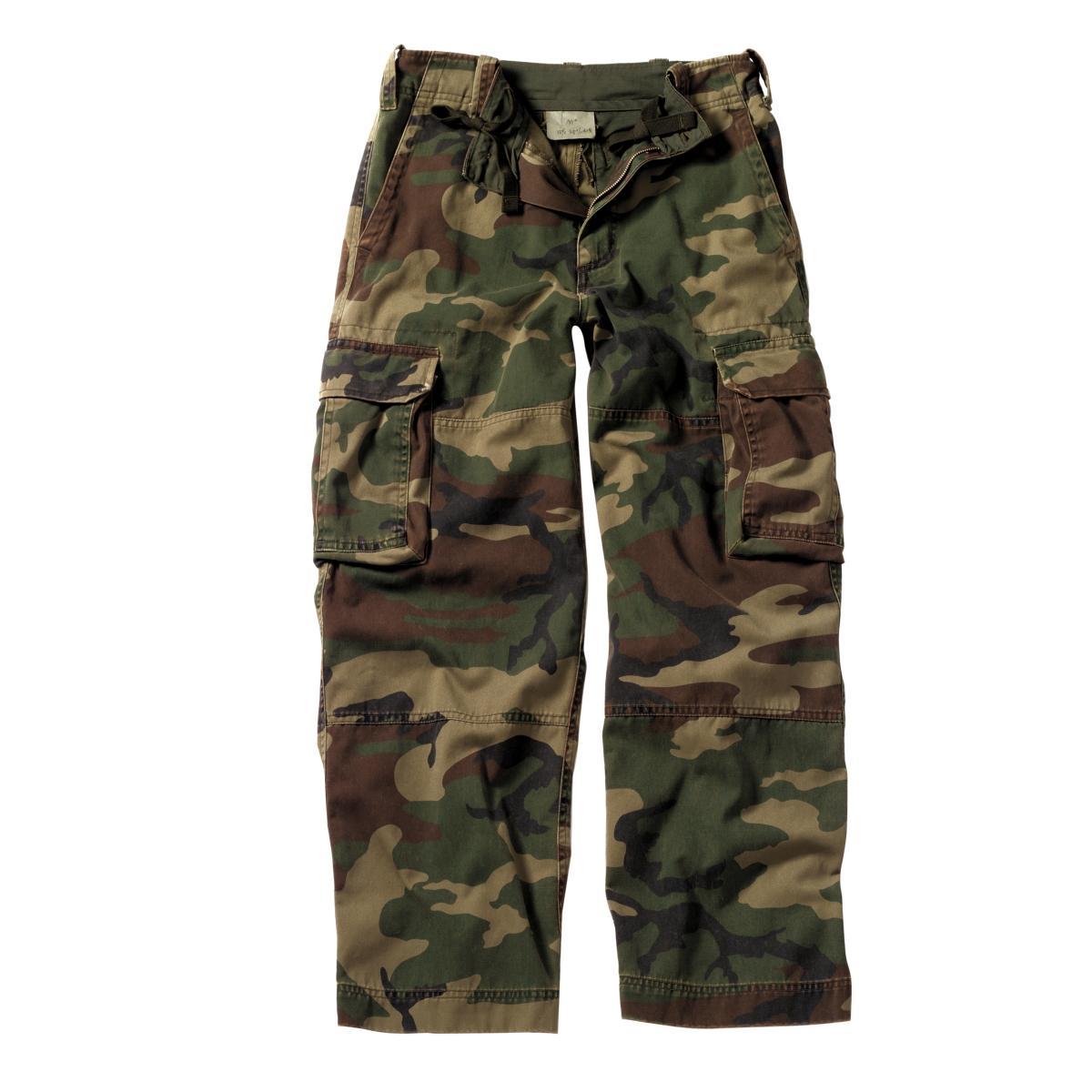 Camouflage pants come in a variety of camo prints, colors and styles to minimize your odds of visual detection. You can match your terrain with realistic prints and hues and no-shine fabrics. Go completely unnoticed with the help of innovative scent-blocking technologies.