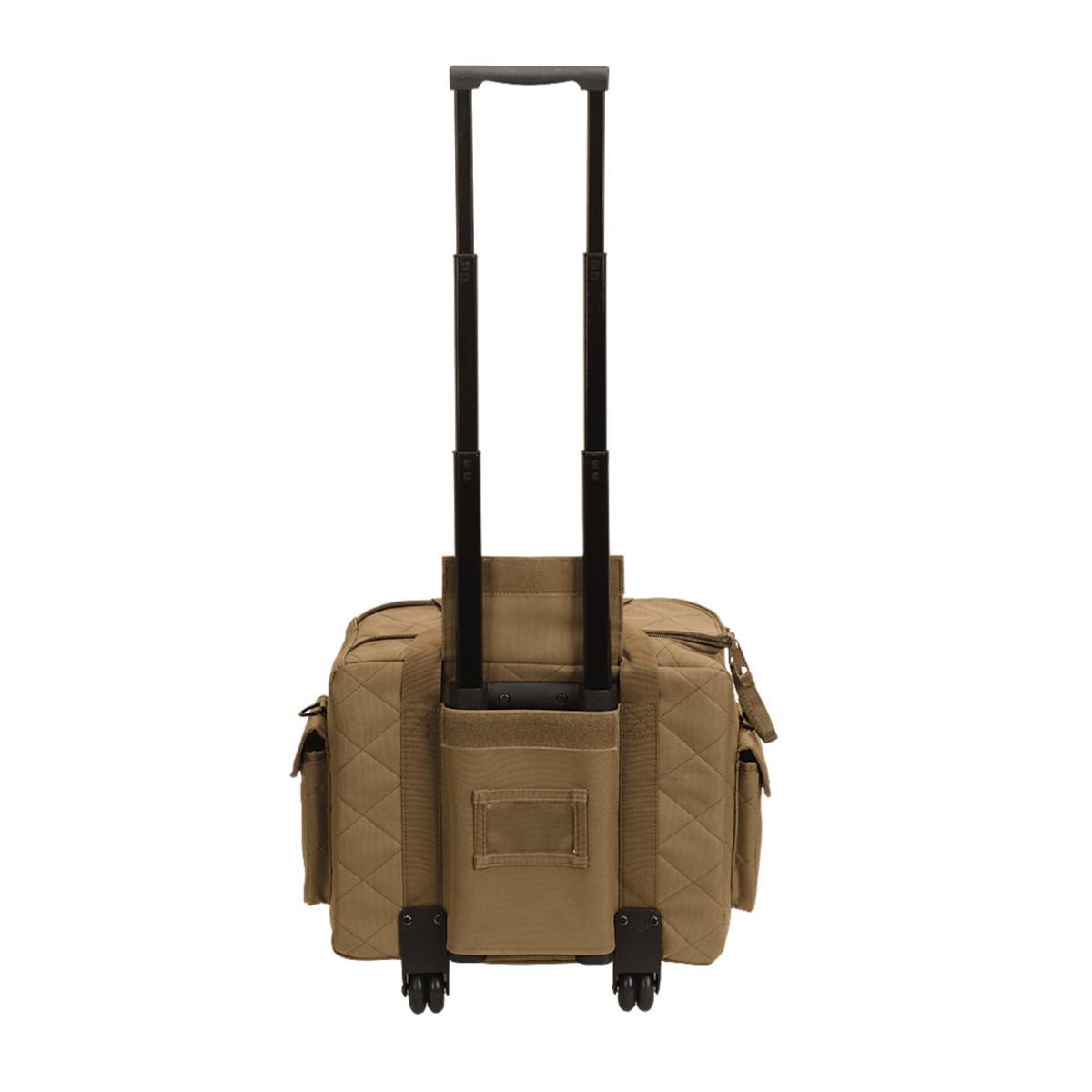 voodoo tactical 20 0940 wheeled scorpion range bag large. Black Bedroom Furniture Sets. Home Design Ideas