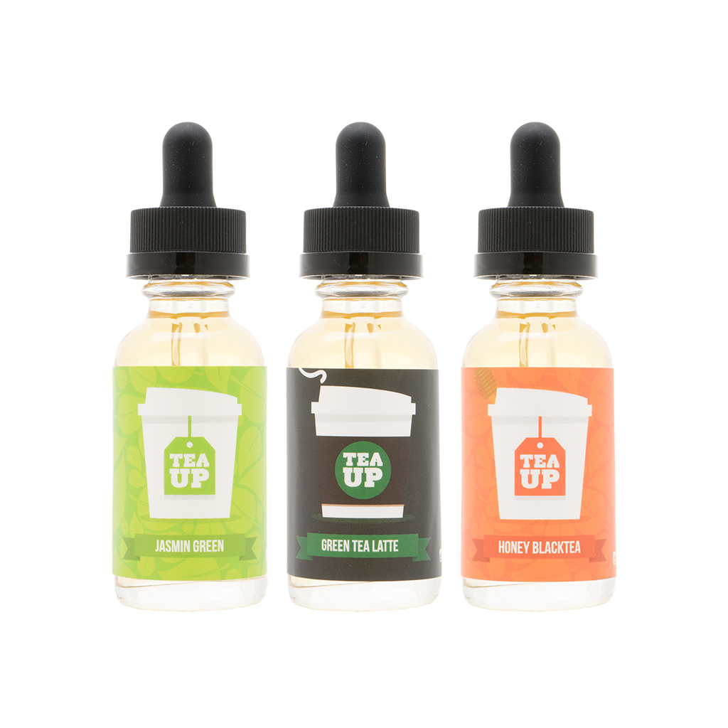 Tea Up Vapory 3-Flavor Collection | 90mL - $75.00 Value! Photo
