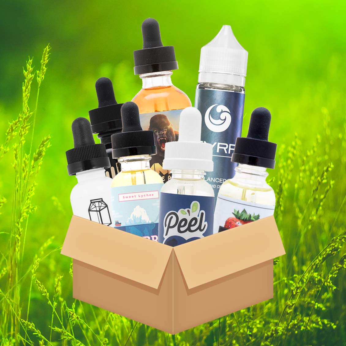 Premium Variety Bundle w/ ANML Unleashed, SVRF, Milkman and More - 300mL! Photo