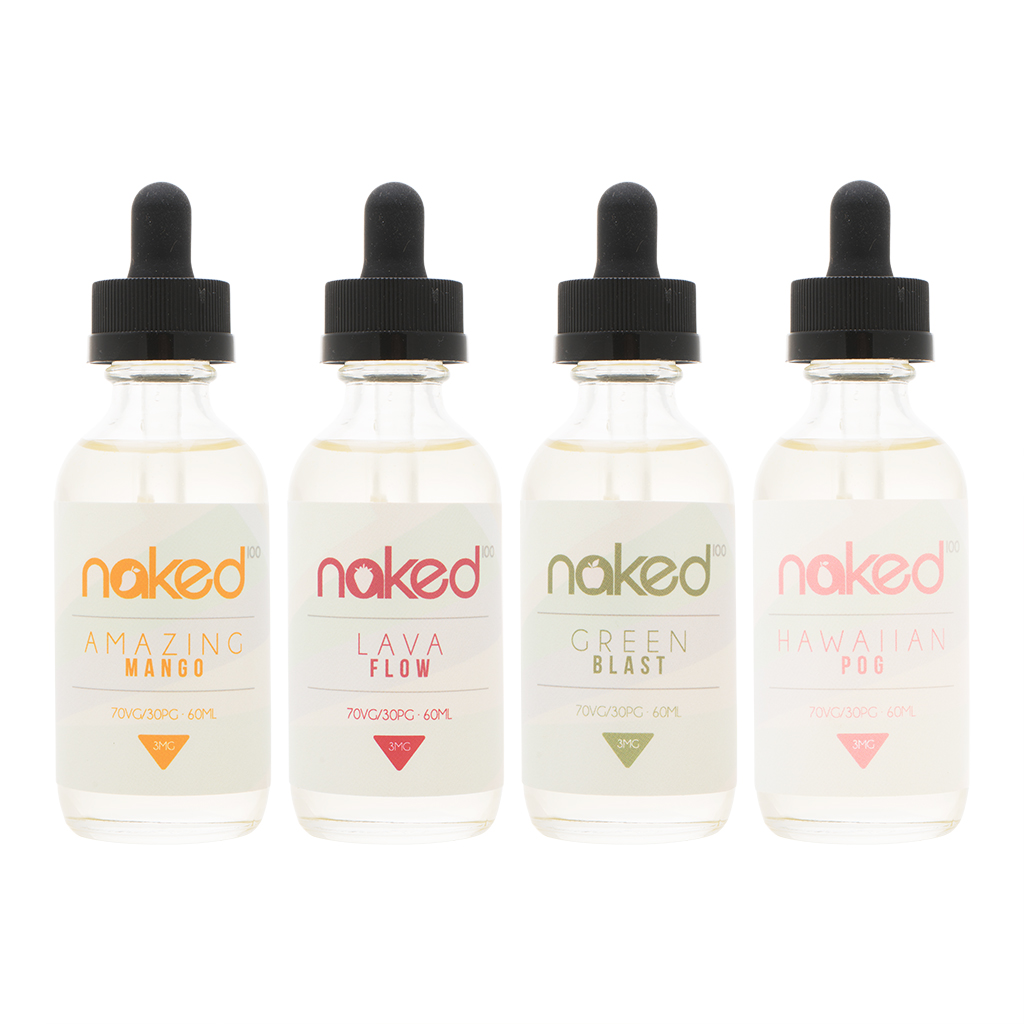 Naked100 4-Flavor Collection | 240mL Photo