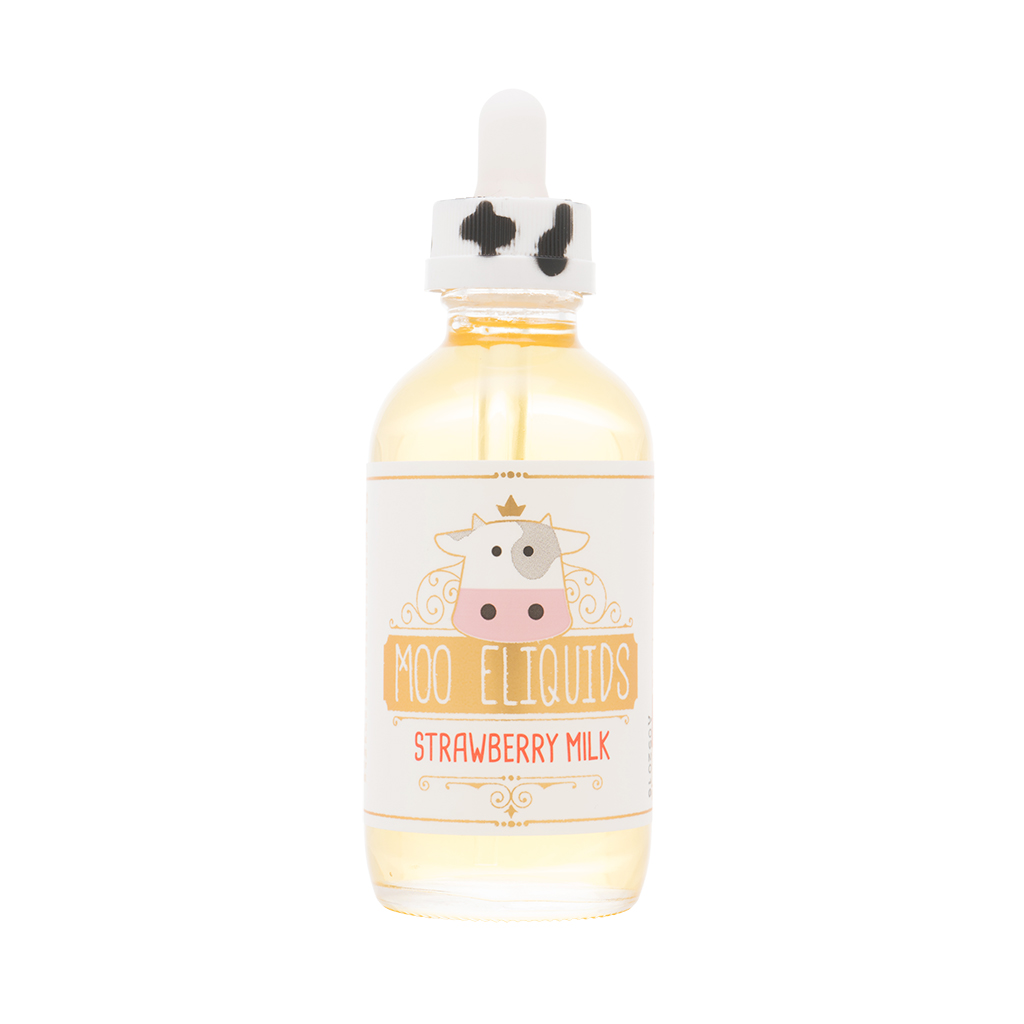 Moo Eliquids - Strawberry Milk 120mL Photo