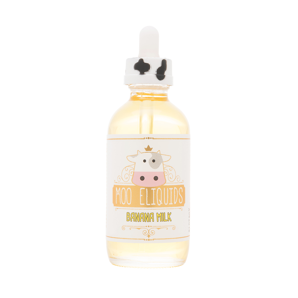 Moo Eliquids - Banana Milk 120mL Photo