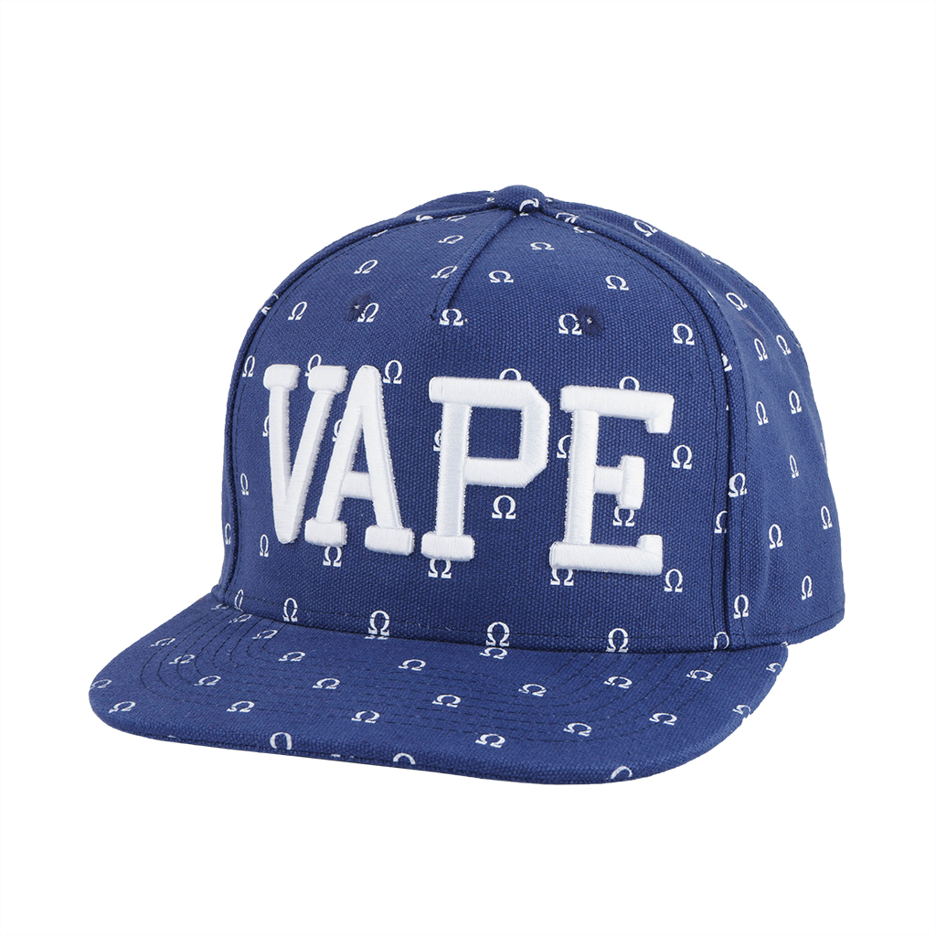 Wick & Wire – Vaper Ohm Snapback Hat (Blue) Photo