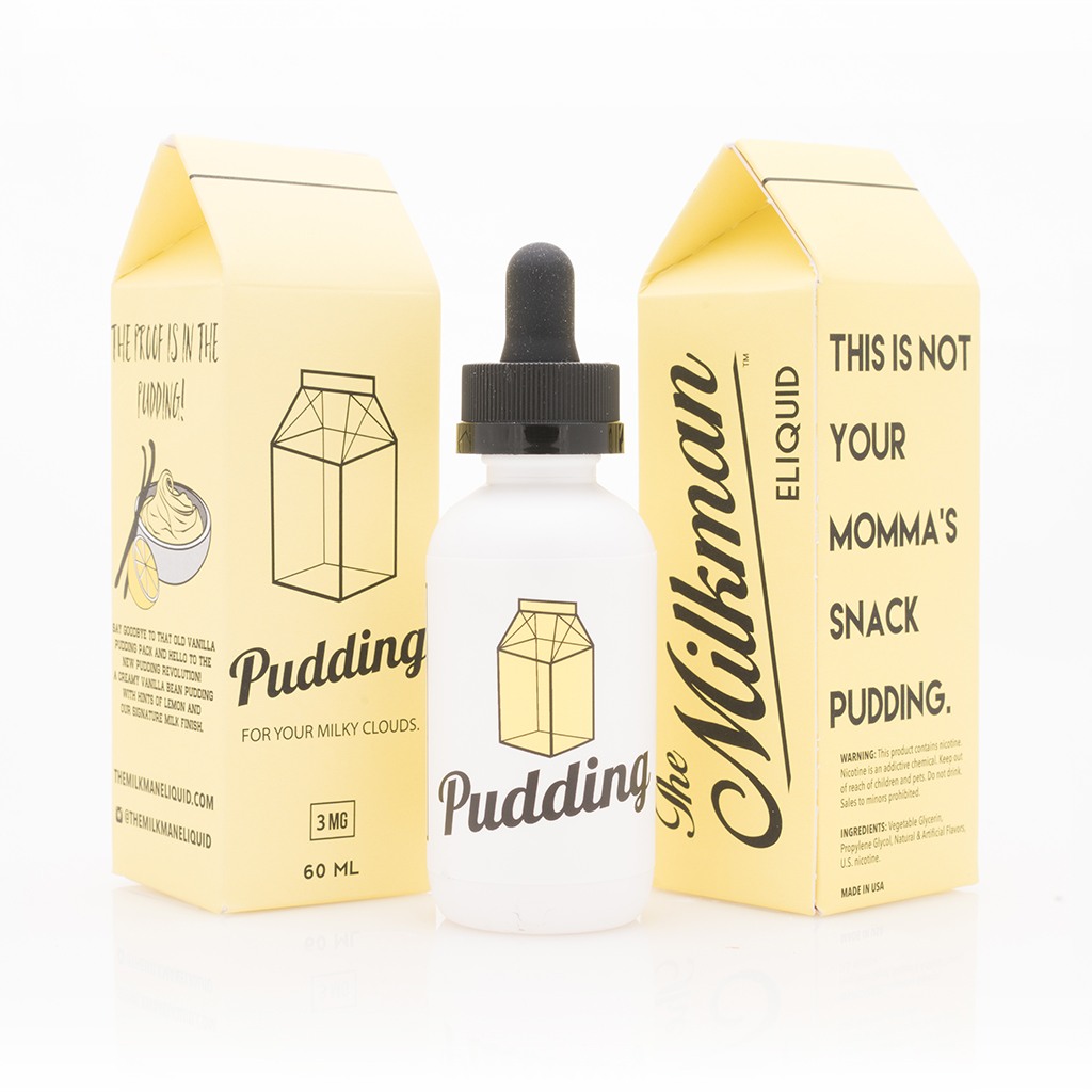 Pudding 60mL by The Milkman Photo