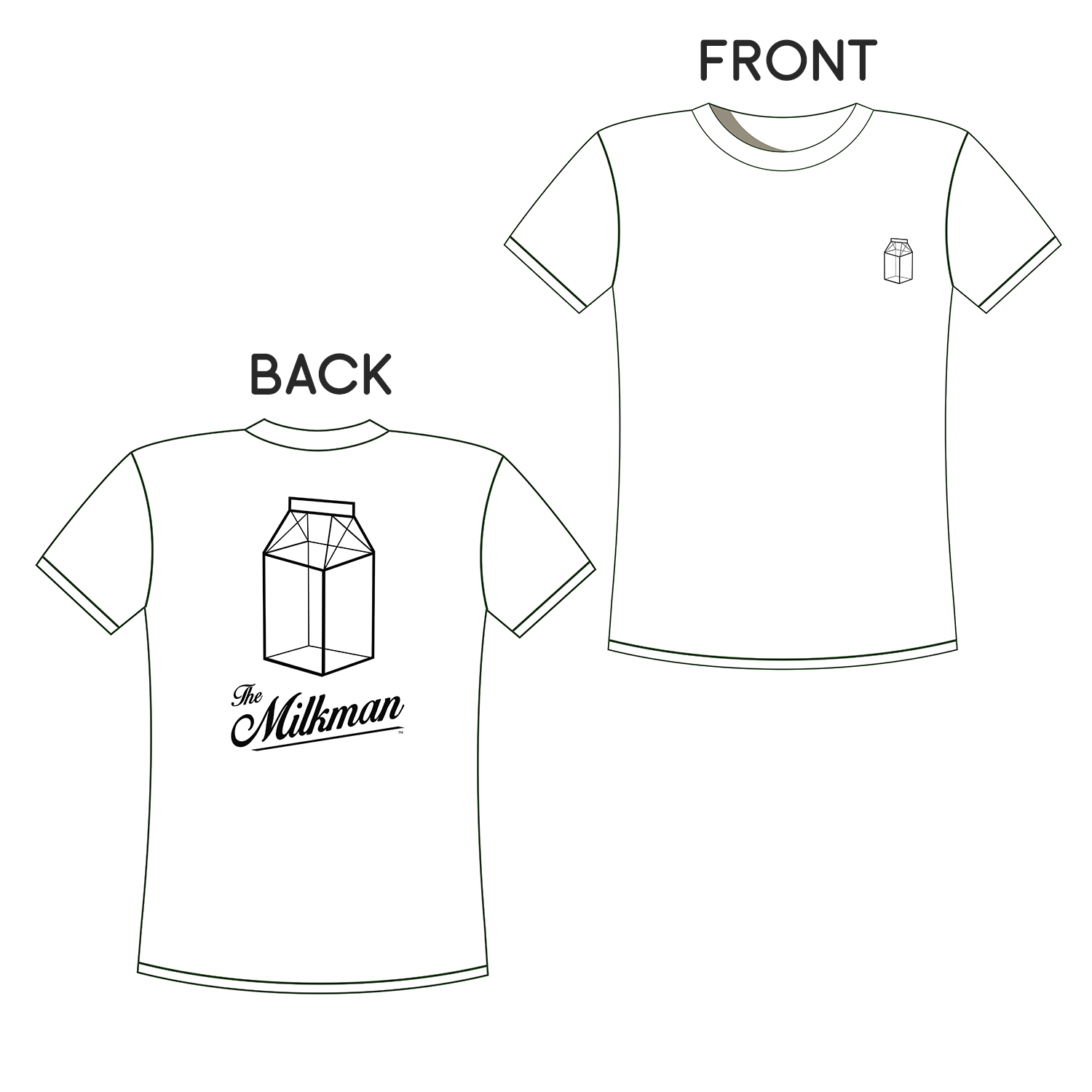 The Milkman T-Shirt Photo
