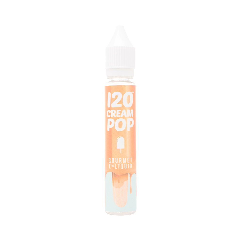 120 Cream Pop by Mad Hatter Juice Photo