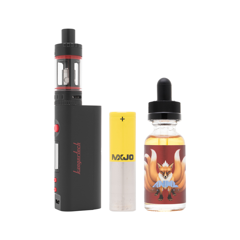 Signature Hardware Bundle | Kanger Topbox Mini Kit (Black) + ANML FURY + MXJO 3000mAh 35A Photo