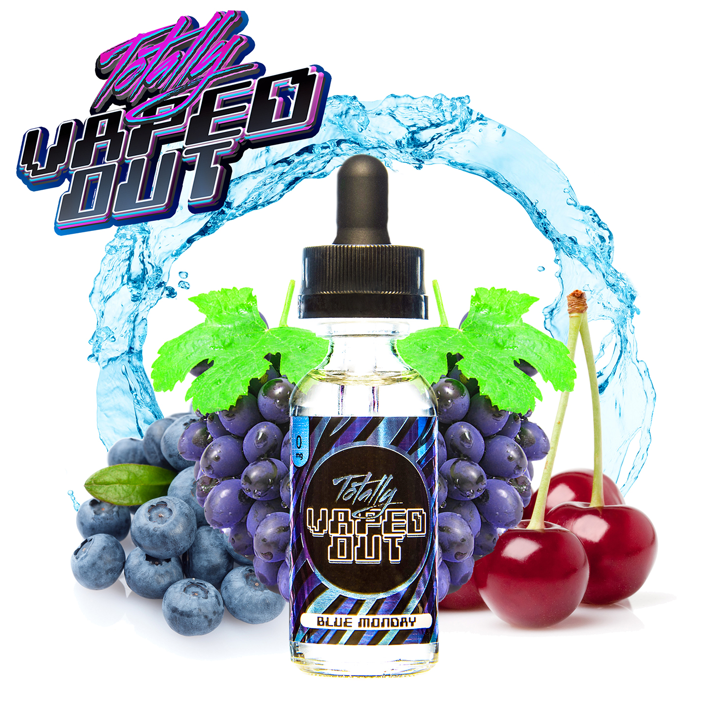 Totally Vaped Out - Blue Monday