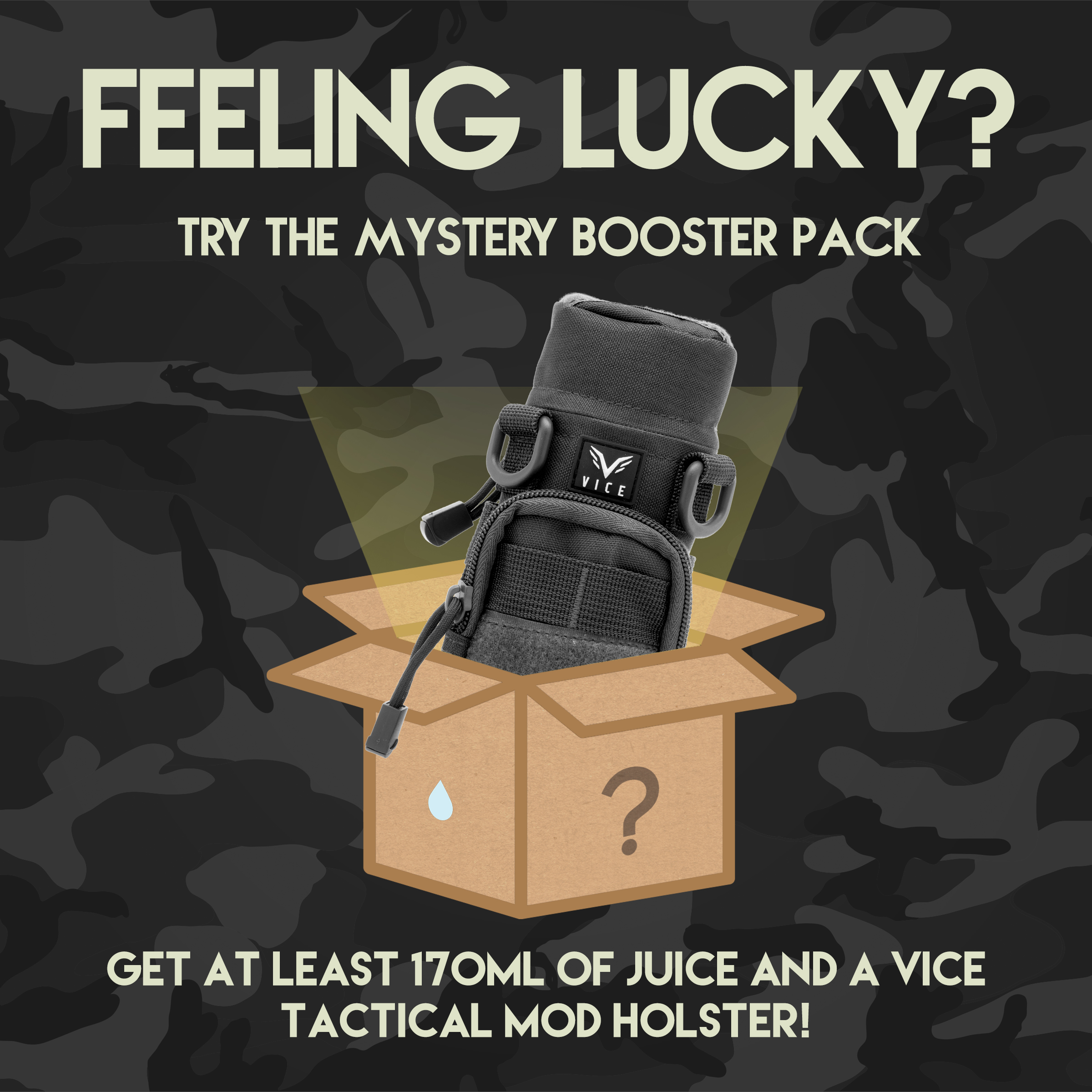 Booster 170mL+! Plus FREE MOD HOLSTER!  Photo