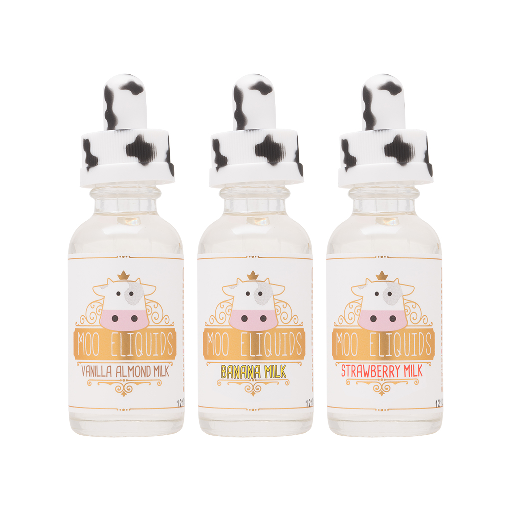 Moo Eliquids 3-Flavor Collection | 90m Photo
