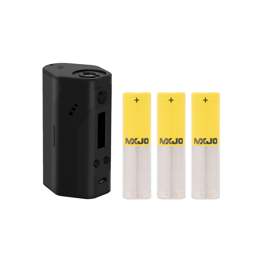 Signature Hardware Bundle | Wismec Reulaeux RX200 + 3X MXJO 3000mAh 35A  Photo