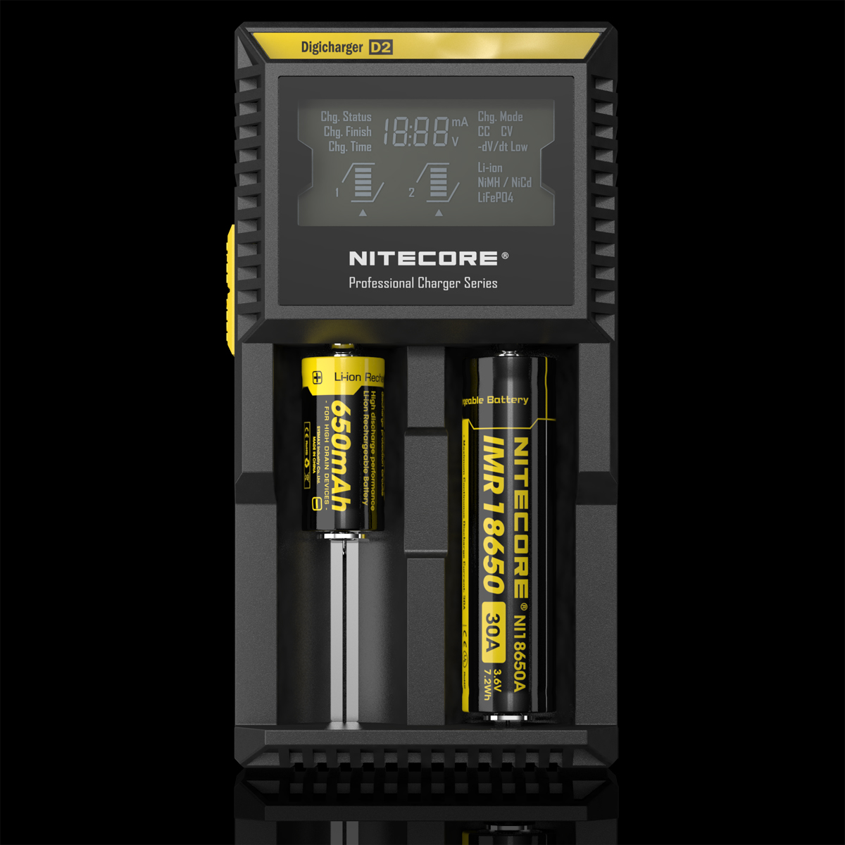NITECORE D2 DIGICHARGER - ADVANCED DIGITAL SMART CHARGER Photo