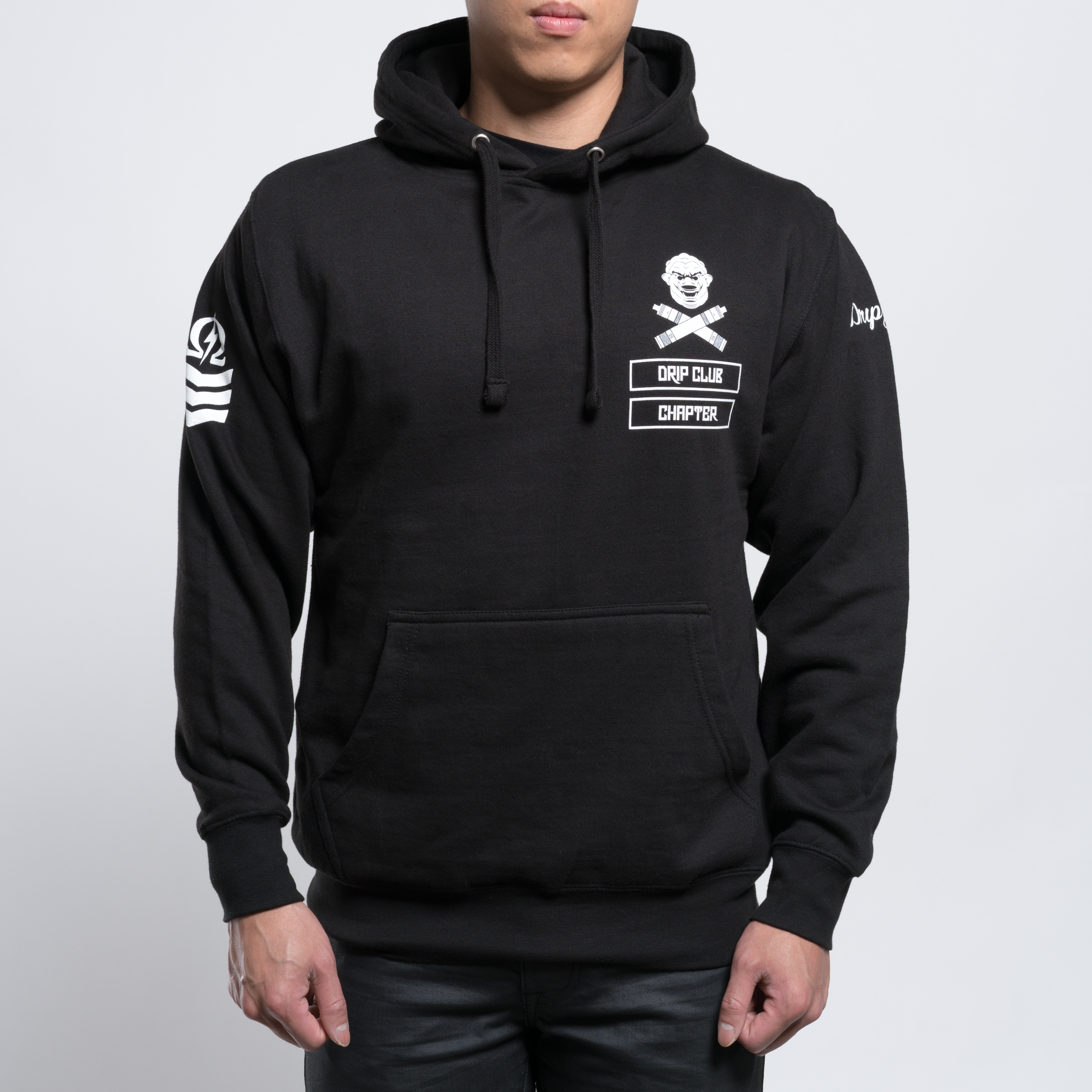 Drip Club Chapters Black Hoody Photo