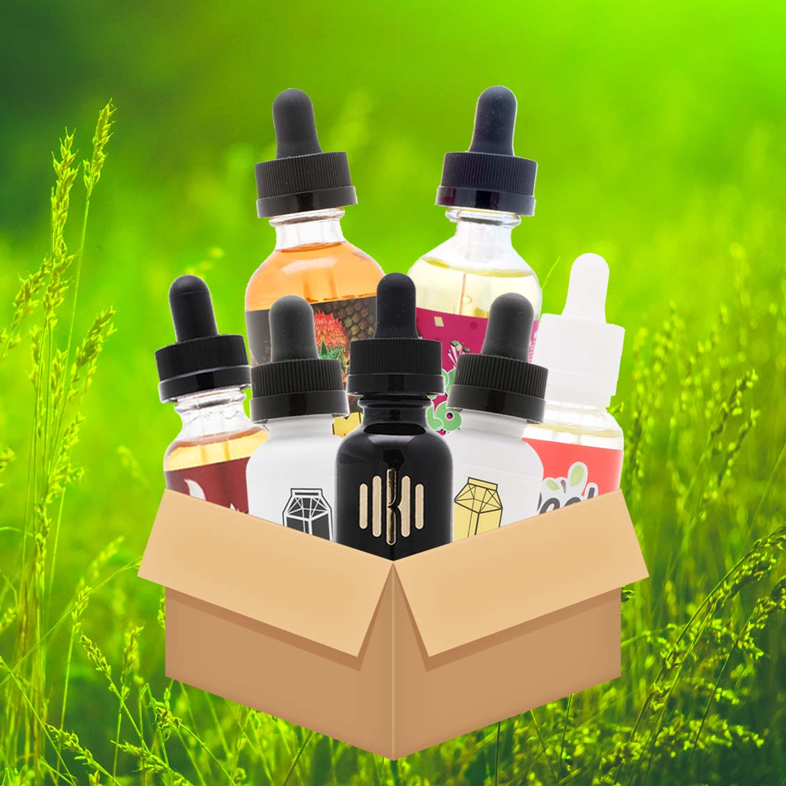 Premium Variety Bundle w/ ANML Unleashed, Pop Clouds, Milkman and More - 300mL! Photo
