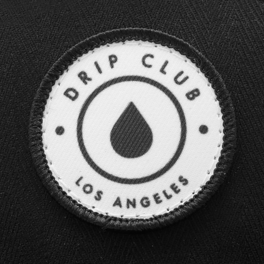 Drip Club 5-Panel Hat - Black Photo
