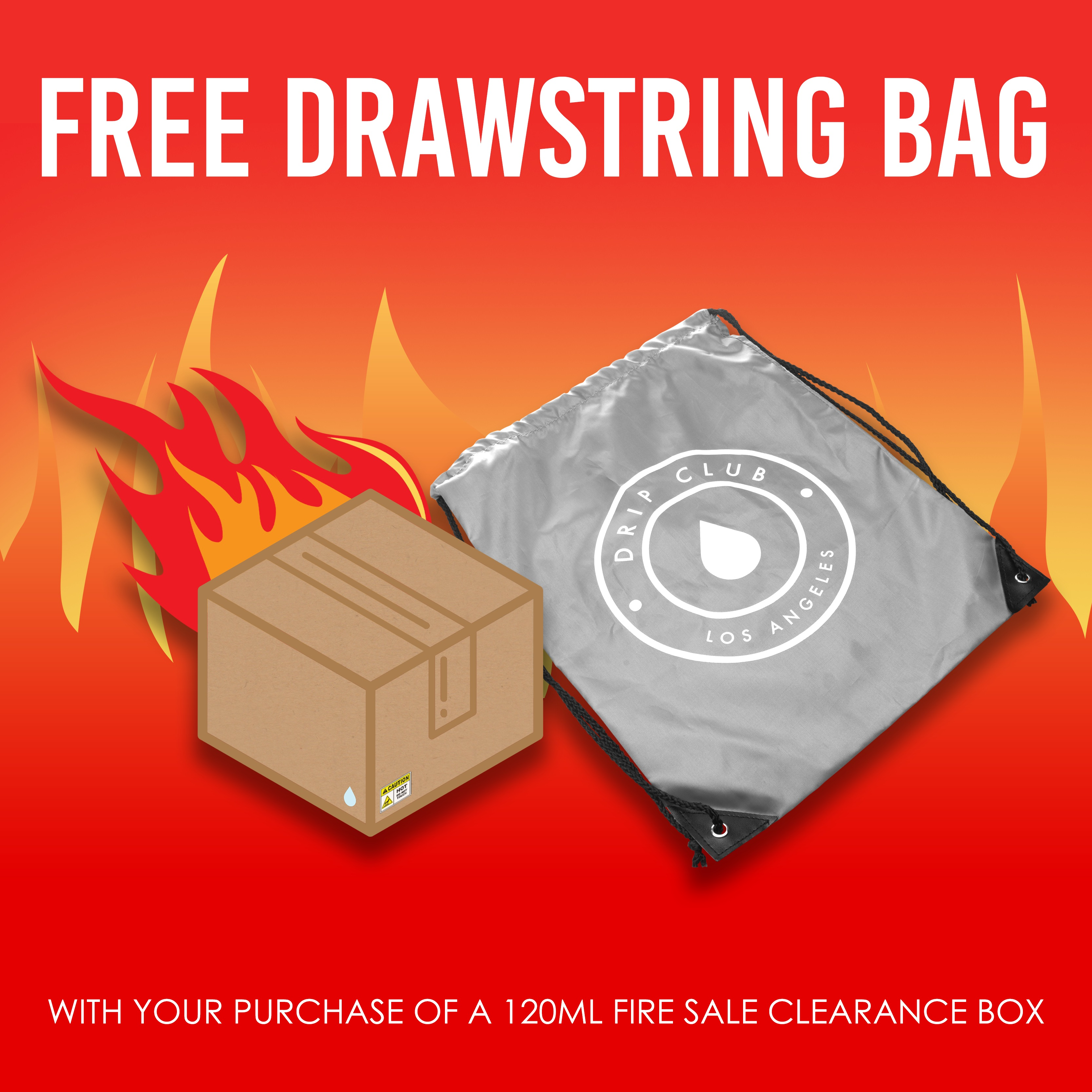 FIRE SALE PACK w/ FREE Drawstring Bag - 120 mL FOR AS LOW AS $14.95! Photo