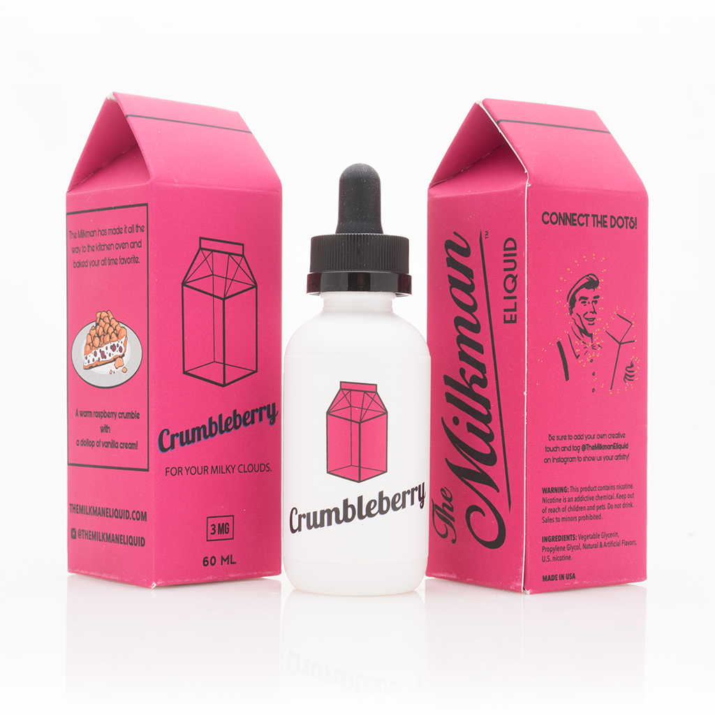 Crumbleberry 60mL by The Milkman Photo