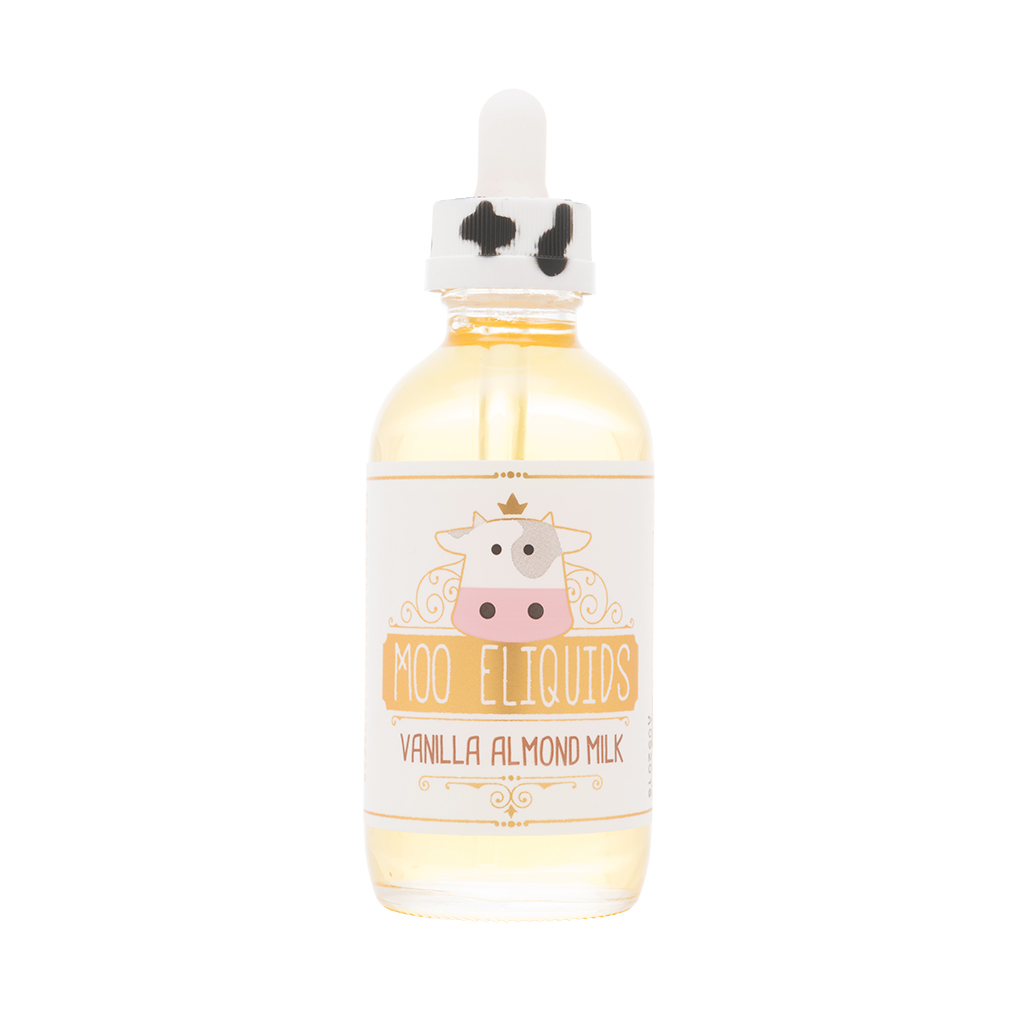 Moo Eliquids - Vanilla Almond Milk 120mL Photo