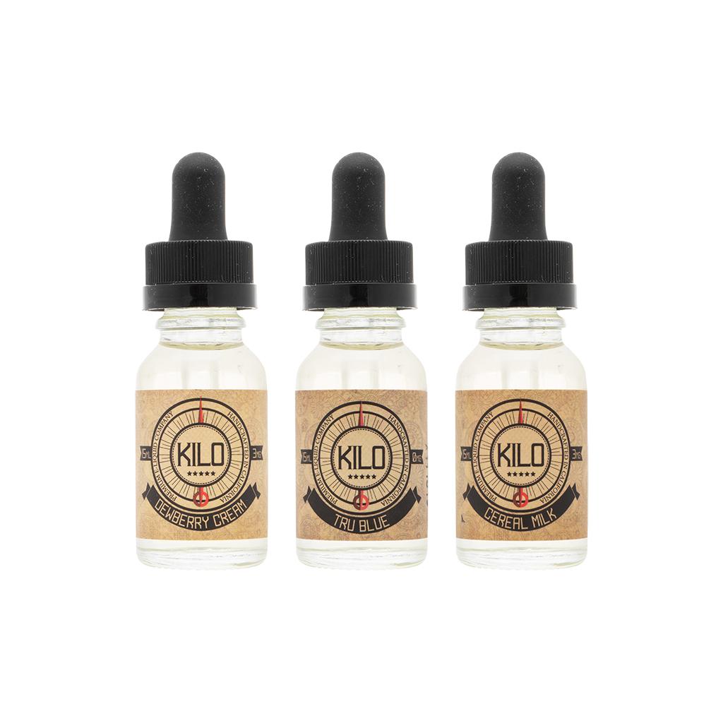 Kilo 3-Flavor Collection | 45mL - $50.00 Value! Photo