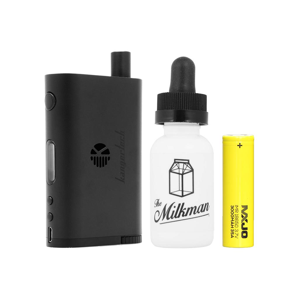 Signature Hardware Bundle | Kanger NEBOX (Black) + MXJO 3000mAh 35A + The Milkman Photo