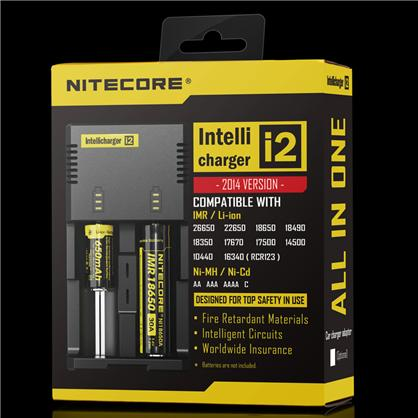 Nitecore i2 IntelliCharger - Automatic Universal Smart Charger Photo