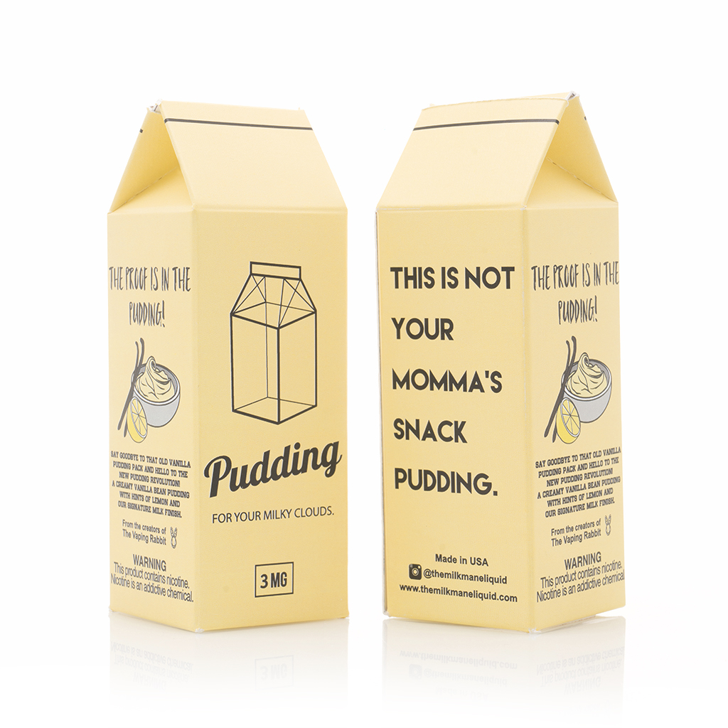 Pudding 30mL by The Milkman Photo