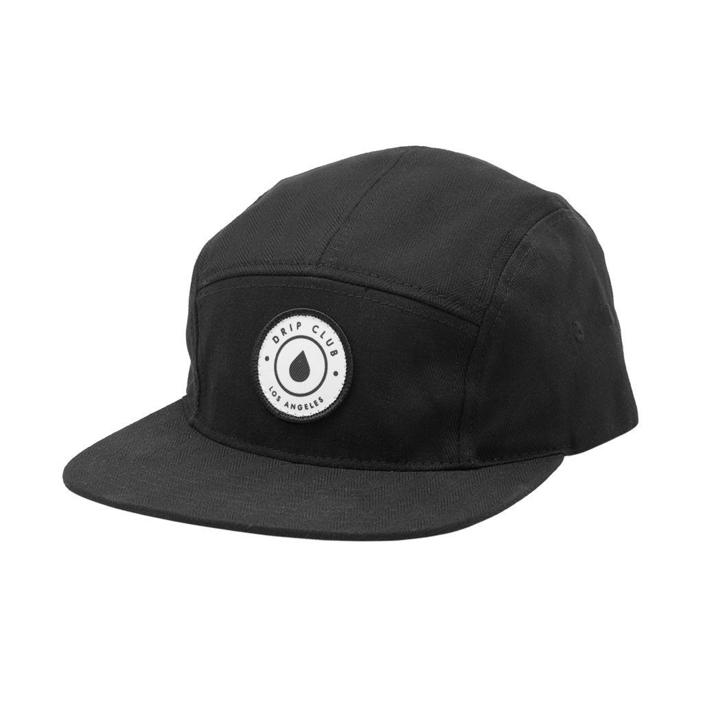 Drip Club 5-Panel Hat - Black Photo