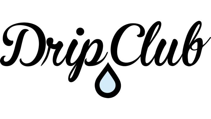 Drip Club Drawstring Bag - Gray  Photo