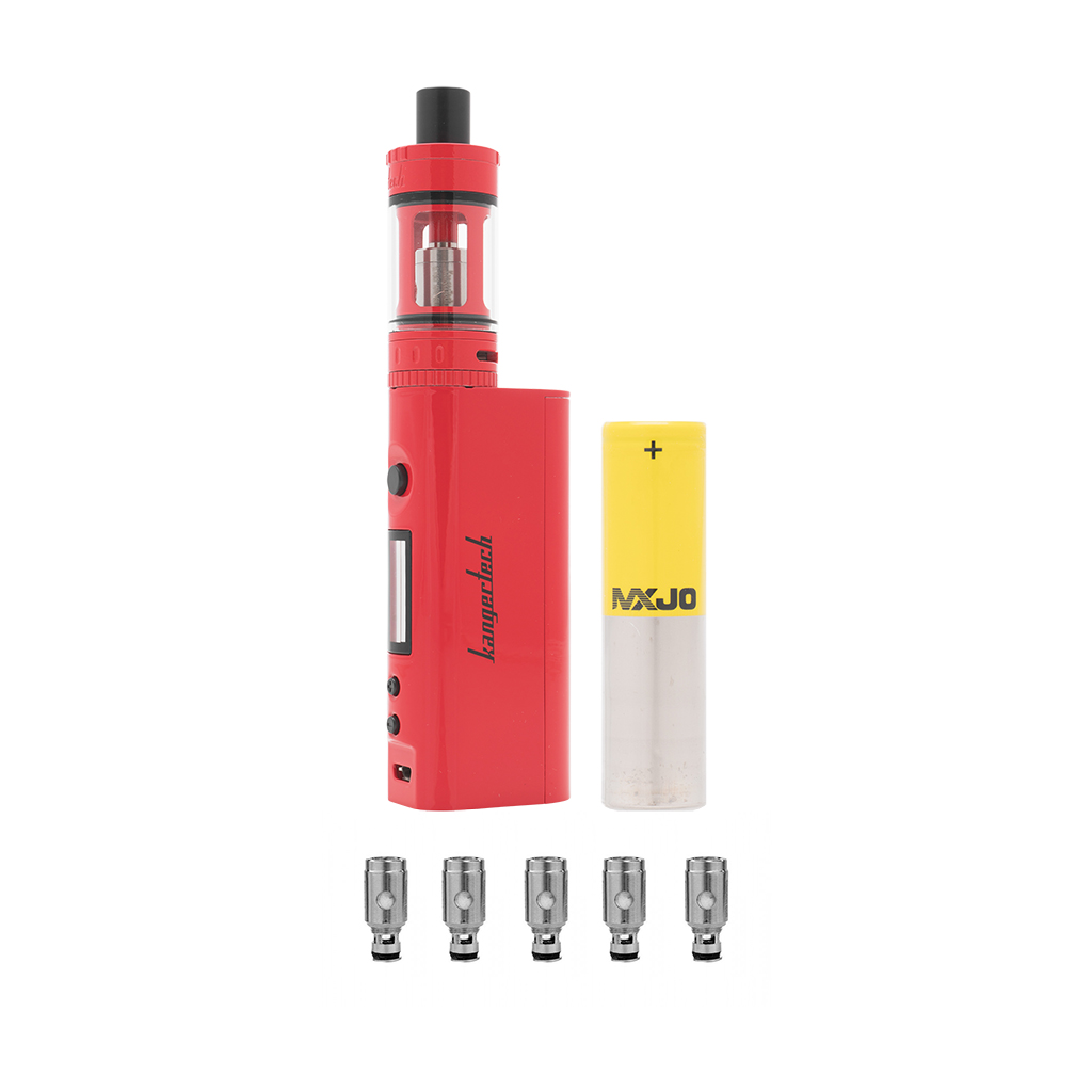 Signature Hardware Bundle | Kanger Topbox Mini Kit + Kanger SSOCC 0.5ohm Coils (5-Pack) + MXJO 3000mAh 35A Photo