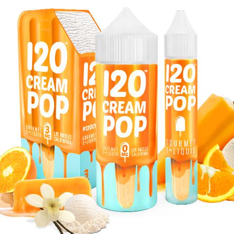 120 Cream Pop by Mad Hatter Juice Photo